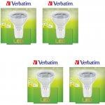 Verbatim LED žárovka GU5.3 3,3W 250lm 25W typ MR16 35° Teplá bílá 4ks