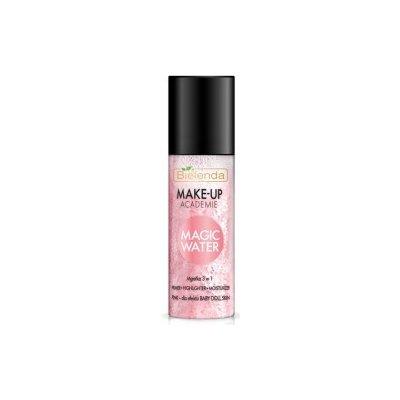 Bielenda Magic Water pink baby doll skin primer rozjasňovač a hydratační mlha 3v1 150 ml