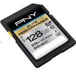 PNY Technologies SDXC 128GB ELITE CLASS 10 SD128ELIPER-EF