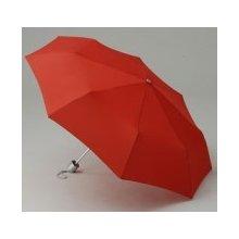 Ultralehký skládací deštník JET červený