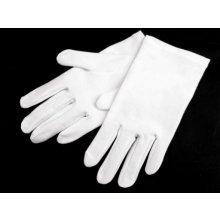Společenské rukavice pánské bílá