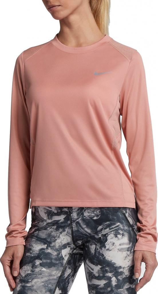 0df6060b1ebd Nike W NK MILER TOP LS 905127-685 od 940 Kč - Heureka.cz