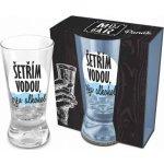 Albi Můj Bar Panák Šetřím vodou piju alkohol 50 ml