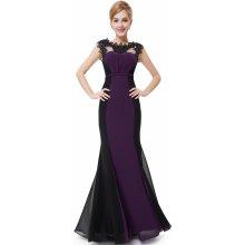 Ever Pretty dámské plesové a společenské šaty HE09996PP fialová b28c6a5217