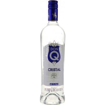 Don Q Cristal 0,7l 40% (holá láhev)