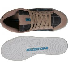Kustom Elana Shoes Beige Tweed