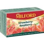 Milford Ovocný čaj jahoda-malina 20 x 2,25 g