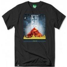 LRG Mountaina Tee Black tričko