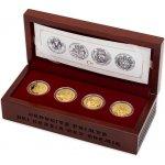 Česká mincovna Sada čtyř zlatých mincí Doba Jiřího z Poděbrad proof 31,1 g