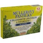 Müllerovy pastilky s islandským lišejníkem a vitaminem C 12 ks