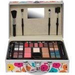 Body Collection EDEN ALU CASE FLOWERS MY GLAM 02 Hliníkový kosmetický kufr vybavený s květinami