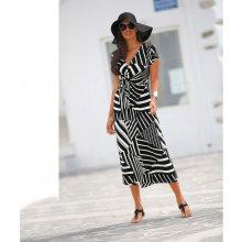 Blancheporte dlouhé šaty s pruhy proužek černá bílá f90a97ce41