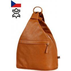 TopMode Batoh kabelka 3v1 z pravé kůže malý 112KA131 hnědá od 1 180 ... 61e80d7a78