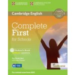 Complete First for Schools Student's Book Without Answers with CD-ROM with Testbank