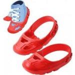 Big Ochranné návleky na botičky protiskluzové červené