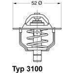 WAHLER Termostat WH 3100.88D