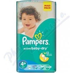 PAMPERS Active Baby Maxi Plus 9-16kg 53ks Heureka.cz