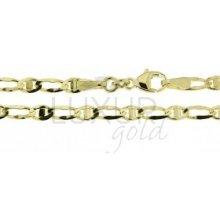 Náramek ze žlutého zlata LUXUR GOLD 2840059