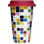Sagaform Porcelánový termohrnek Pixel 0,25l