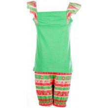 Adidas Infant Boys Beach T-Shirt And Short Set Green