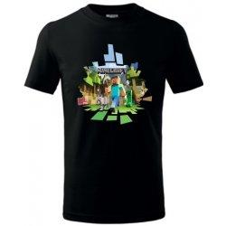 9a08e3f285 Dětské tričko Tričko dětské Minecraft 2 černá