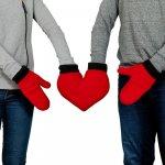 Zamilované rukavice pro páry