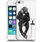 Pouzdro HEAD CASE Apple iPhone 5 a 5S OPIČÁK S TELEFONEM