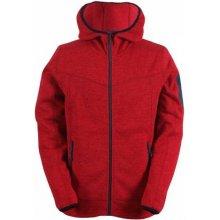 HEDEN -pánský svetr s kapucí a zipem(flatfleece)
