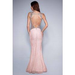 74bfa6052b46 Soky Soka dámské šaty bez rukávů krajkové dlouhé růžová alternativy ...