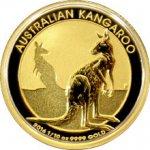 Kangaroo Zlatá mince Klokan 1 10 Oz