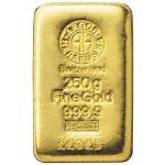 Heraeus Argor Zlatý slitek 250 g