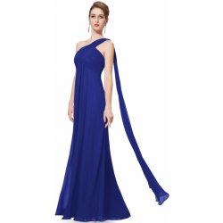 3fcd17ab556e Modré šaty na rameno - Nejlepší Ceny.cz
