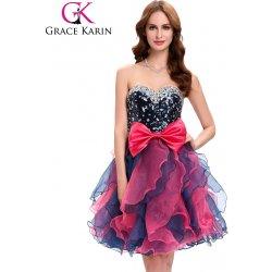 550bc53bbb32 Grace Karin společenské šaty krátké CL4976 černá alternativy ...