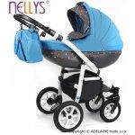 Baby Nellys Lally 3v1 modrý 2016