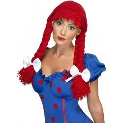 Karnevalový kostým Dámská paruka Hadrová panenka f962bb720bf