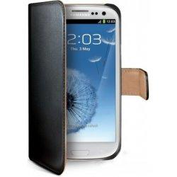 Pouzdro na mobilní telefon Pouzdro CELLY Wally Samsung Galaxy S3 Mini černé