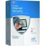 McAfee Internet Security 3 lic. Elektronická licence (MIS00QNR3RDD)
