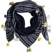 6a065e71777 Roxy šátek Take A Ride BTK3 Dress Blues Vertical Stripes