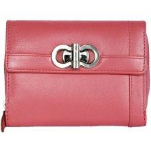 kožená peněženka HMT růžová