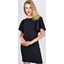 Basic šaty se širokými rukávy 2111 černá be701e42de