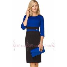488f2a55ccc4 Color collection dámské šaty zeštíhlující modrá