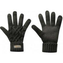 Golddigga Cable Gloves Ladies grey