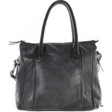 Another bag La Sereine Vintage kabelka tmavě šedá