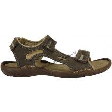 sandály Di Janno hnědé