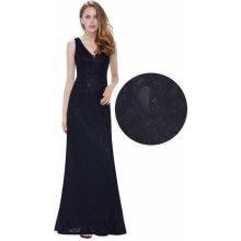 afc5a052b89 Plesové šaty Dlouhé černé plesové šaty - Heureka.cz