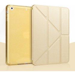 c96ec4b762b SES 2v1 Smart cover + silikonový zadní obal pro Apple iPad Air 2 - zlatý