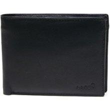 Lagen Pánská kožená peněženka Black W 8053