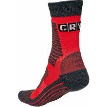 0a403b05101 MELNICK ponožky červená