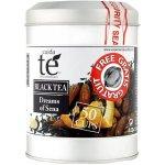 Cuida Té Dreams of Sena sypaný černý čaj se skořicí mandlemi vanilkou a pomerančem dóza 100 g