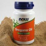 Now Oregano Oil (oreganový olej) 90 softgel kapslí